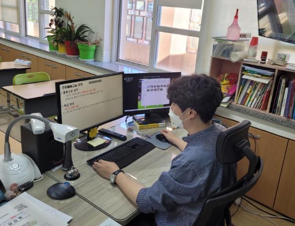 [교육지원과] 2021 방과후학교, 초등돌봄교실 업무담당자 온라인 연수.jpg