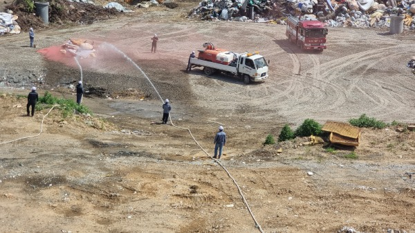 [자원순환과]구미시 환경자원화시설, 화재 대비 합동소방훈련 실시2.jpg